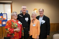5 Denise Dooley Stone, J Craig Scherf, Connie Brennan (guest of Jhan â